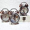 """Часы-будильник с подсветкой """"Ретро"""", маленькие."""