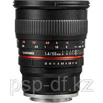 Объектив Samyang 50mm f/1.4 AS UMC для Sony E