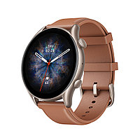 Смарт часы Amazfit GTR 3 Pro A2040 Brown Leather