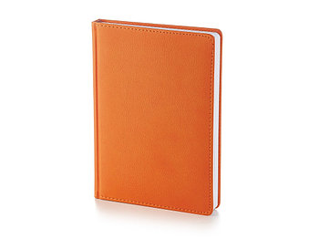 Ежедневник А5 датированный Leader 2022, оранжевый
