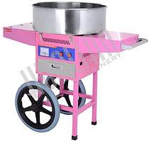 Аппарат для производства сахарной ваты HUALIAN HEC-03C (с тележкой)