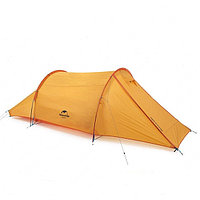 Палатка-туннель 2-местная Naturehike NH20ZP006 оранжевая, фото 1