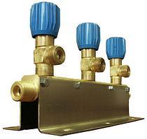 Коллектор рамповый КР-01-02 кислородный на 3 баллона