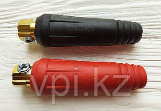 Контактный наконечник, черный+красный,  DKJ 10-25мм