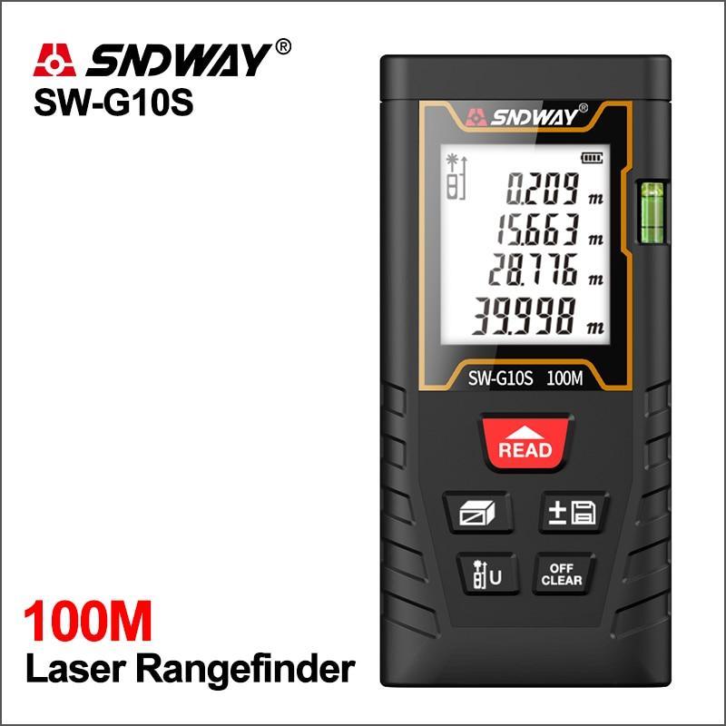 Лазерный дальномер Sndway SW-G10S 100 метров