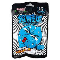 Супер кислый леденец со вкусом черники СИНИЙ 28 г (20 шт в упаковке)