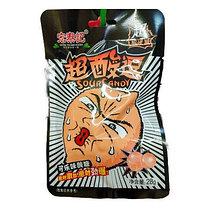 Супер кислый леденец со вкусом Колы КОРИЧНЕВЫЙ 28 г (20 шт в упаковке)
