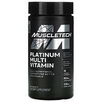 Muscletech, Platinum, мультивитамины, 90 таблеток