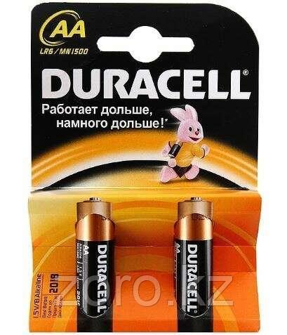 Батарейки Duracell AA пальчиковые