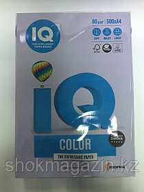 "Бумага ксероксная  ""IQ COLOR"" бледно-лиловая, А4, 500л, 80г"