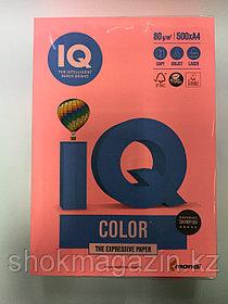 "Бумага ксероксная неон розовая ""IQ COLOR"" А4, 500л, 80г"