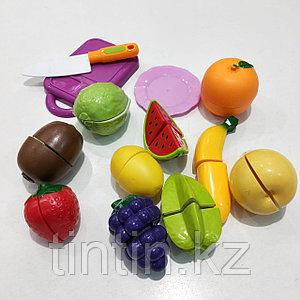 Разрезаемый фрукты на липучках - 10шт