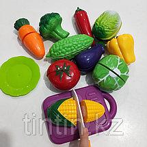 Разрезаемый овощи на липучках - 10шт, фото 2