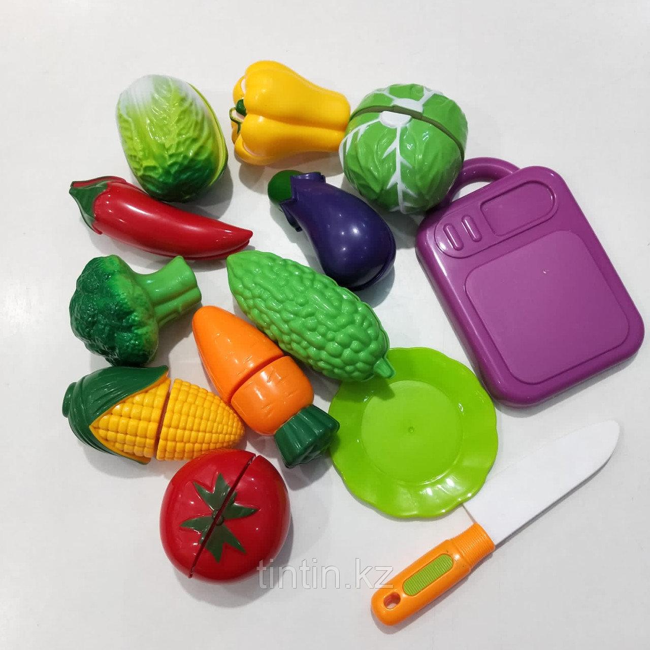Разрезаемый овощи на липучках - 10шт