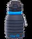 Бутылка для воды с карабином, складная  Starfit, фото 6