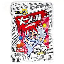 Супер кислые Конфеты XING X-Baosuan со вкусом Клубника КРАСНЫЕ 20гр (20 шт в упаковке)