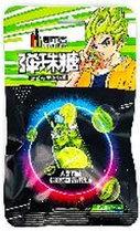 Супер кислые Аниме Конфеты Dushike со вкусом лимонада ЗЕЛЕНЫЙ 24гр (20 шт в упаковке)