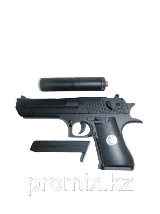 Игрушечный железный/металлический пистолет К111S (Desert Eagle). Airsoft Gun