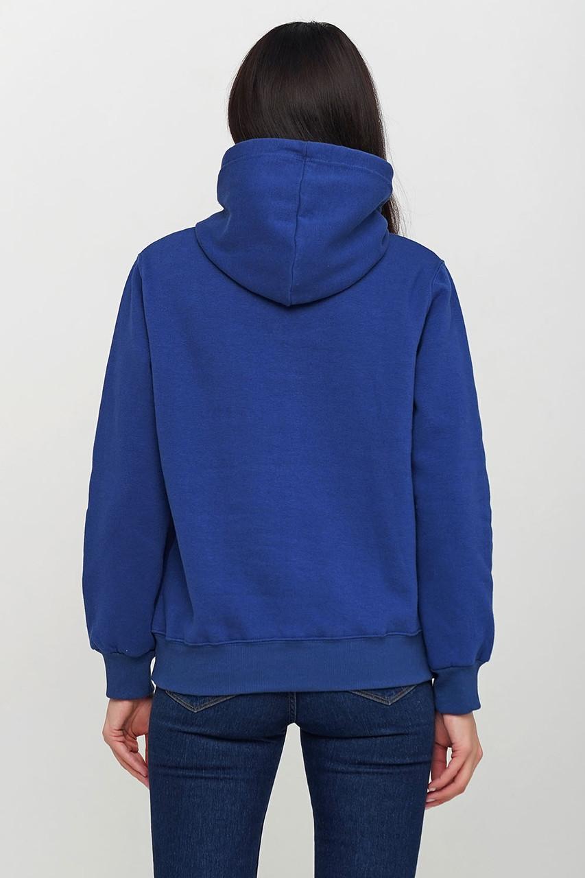 Худи однотонный - синий