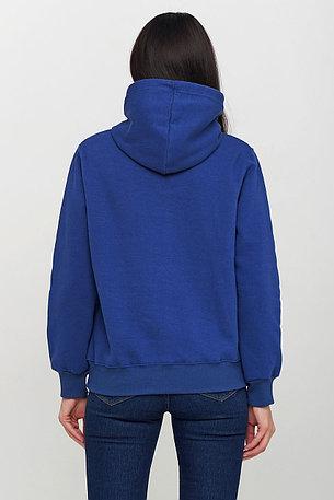 Худи однотонный - синий, фото 2