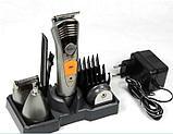 Машинка для стрижки волос Nikai NK-580 7 в 1, фото 3