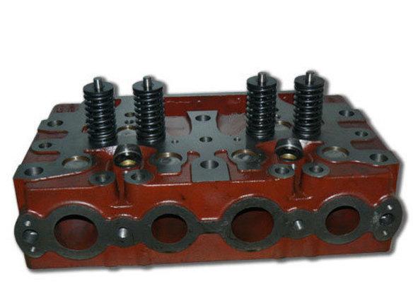 Головка блока цилиндров на бульдозеры Т-130, Т-170, Б-10 с клапанами, фото 2