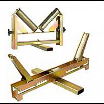 Роликовые опоры для полимерных труб