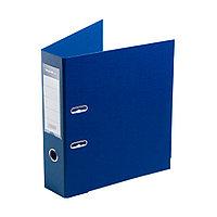 """Папка–регистратор Deluxe с арочным механизмом, Office 3-BE21 (3"""" BLUE), А4, 70 мм, синий"""