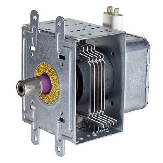 Магнетрон SAMSUNG OM75S31 900W 6 пластин 4 отв разьём параллельно