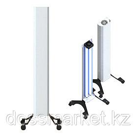 Бактерицидный рециркулятор, Clean MAX, Передвижной, 4 колесика, Бактерицидные лампы 2шт, 60 W (Лампа Армед)