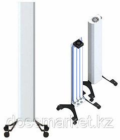 Бактерицидный рециркулятор, Clean PRO, Передвижной, 4 колесика, Бактерицидные лампы 3шт. 90 W (лампа АРМЕД)