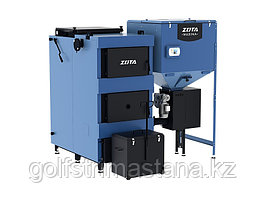 """Авт. универсальный котел 200 кВт.,  ZOTA MAXIMA (1250 л), """"два шнека"""""""