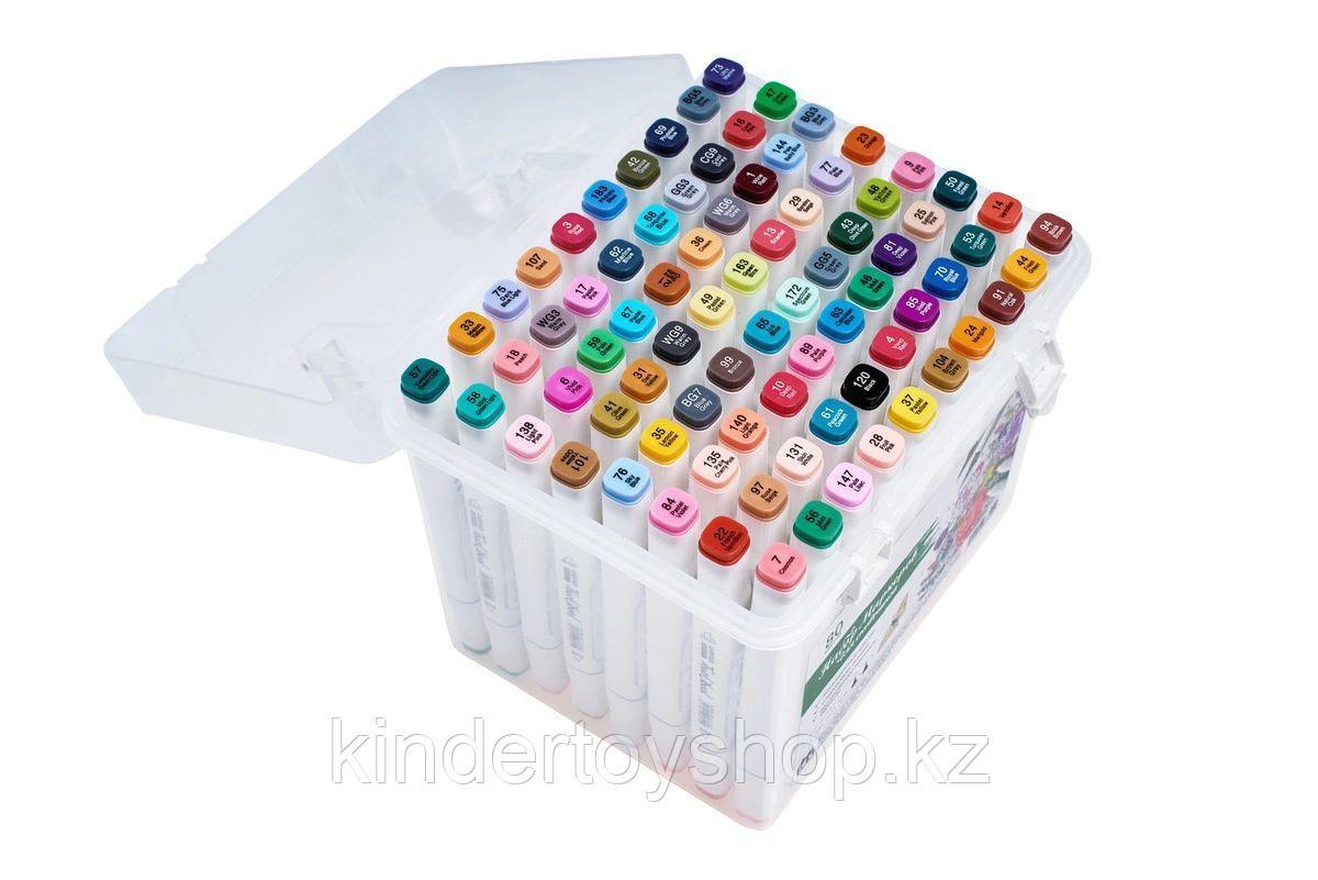 Touch Маркеры 80 цветов Оригинал профессиональные для скетчинга