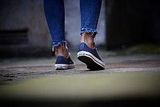 Кеды синие низкие классические, фото 3