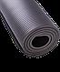 Коврик для йоги FM-301, NBR, 183x58x1,0 см, серый Starfit, фото 4