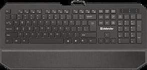 Клавиатура проводная Defender Oscar SM-600 Pro черный