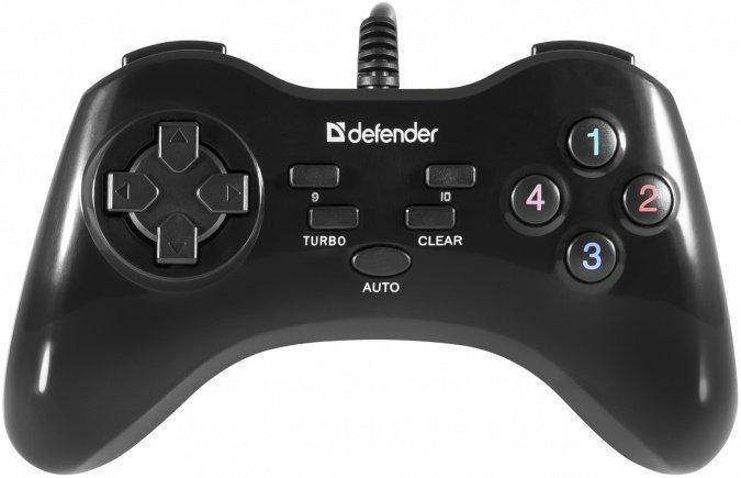 Геймпад проводной Defender Game Master G2, USB, 13 кнопок