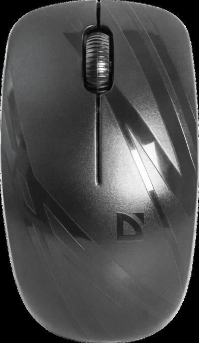 Мышь беспроводная Defender Datum MM-035 B черный