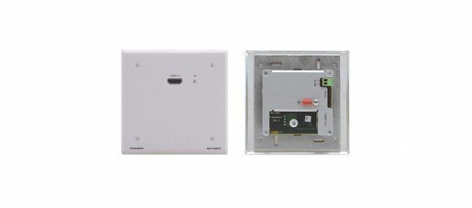 Передатчик Kramer WP-580T/EU(W)-86 HDMI по витой паре HDBaseT; до 70 м, цвет белый