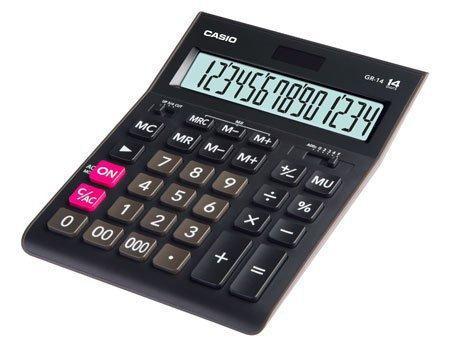 Калькулятор настольный CASIO GR-14-W-EP
