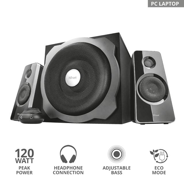 Компактная акустика 2.1 Trust TYTAN черный