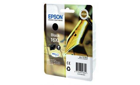 Картридж Epson C13T16314010 повышенной емкости для WF2010_XL черный