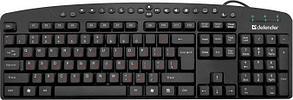 Клавиатура проводная Defender Defender Atlas HB-450 RU,черный