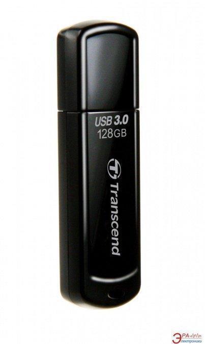 USB Флеш 128GB 3.0 Transcend TS128GJF700 черный