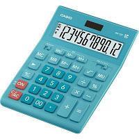 Калькулятор настольный CASIO GR-12C-LB-W-EP бирюза