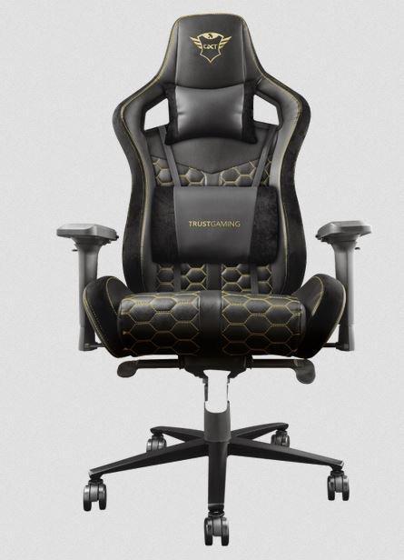 Игровое кресло Trust GXT 712  Pro Gaming черный