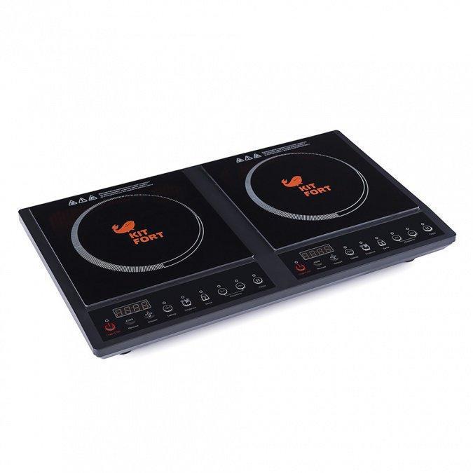 Индукционная плитка Kitfort КТ-109 черный