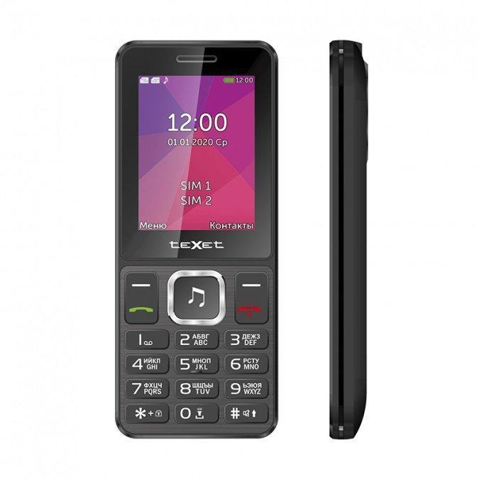 Мобильный телефон Texet TM-301 черный