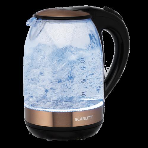 Электрический чайник Scarlett SC-EK27G81(стекло)