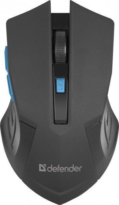 Мышь беспроводная Defender Accura MM-275 черный-синий